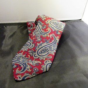 Robert Talbott for Nordstrom Red/Blue Paisley Tie